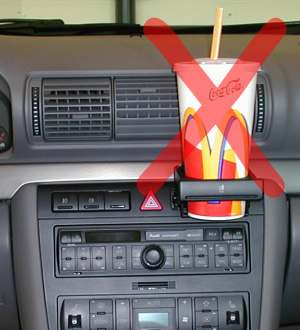 volkswagen cup holder